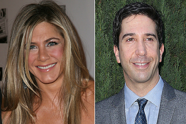 Jennifer Aniston and David Schwimmer now sport way better 'dos than they did in high school.