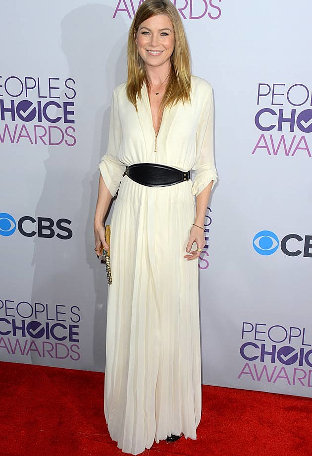 Ellen Pompeo 2013 People's Choice Awards