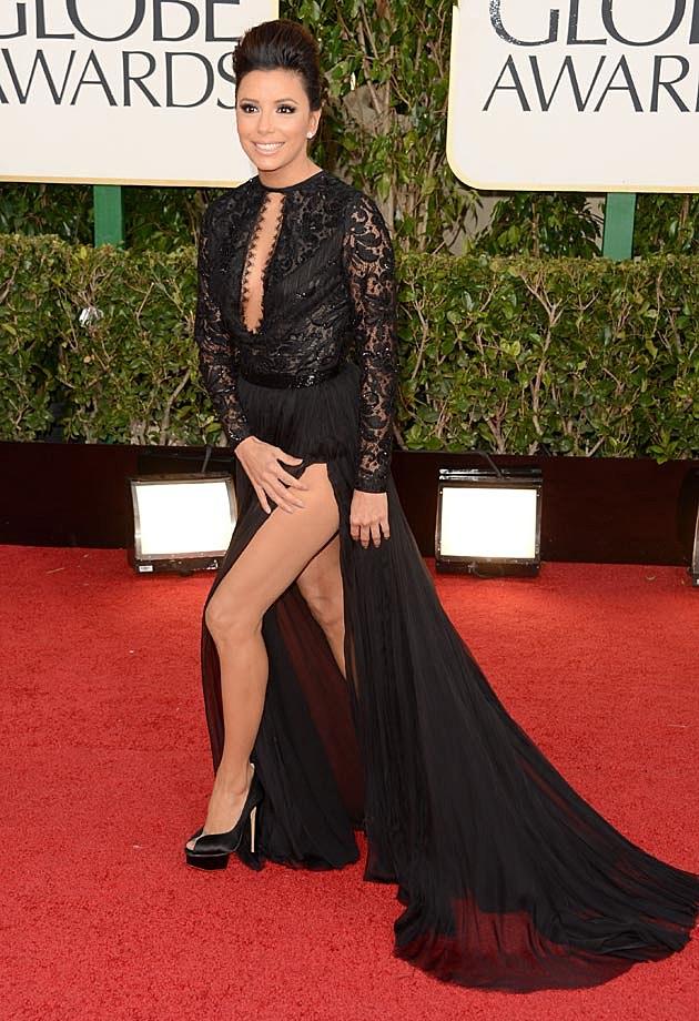 Eva Longoria Golden Globes 2013