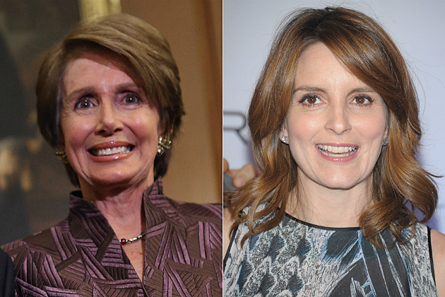 Tina Fey and Nancy Pelosi will star together in the final episode of '30 Rock.'