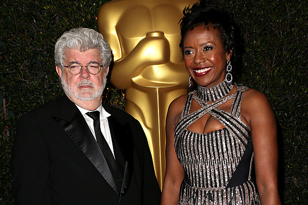 George Lucas engaged Mellody Hobson