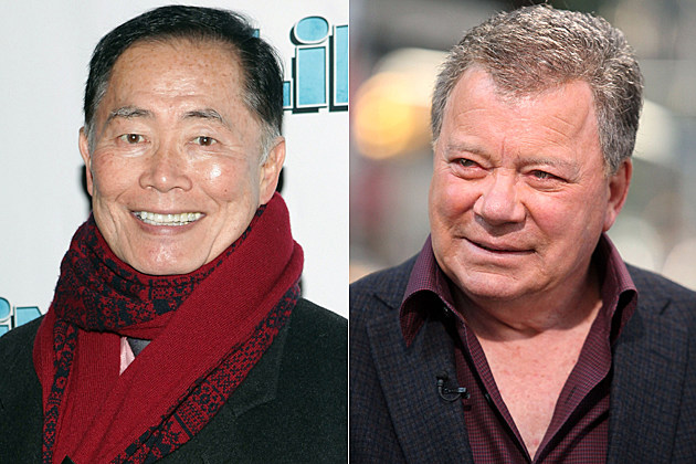 George Takei William Shatner