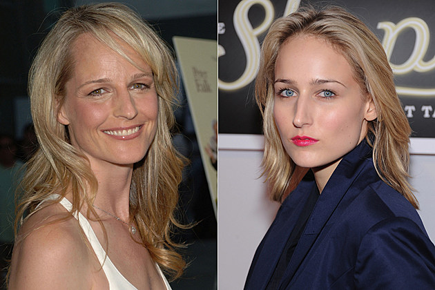 Helen Hunt then and now