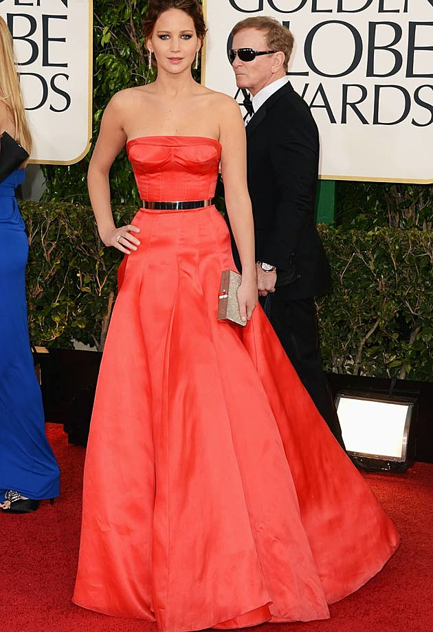 Jennifer Lawrence Golden Globes 2013