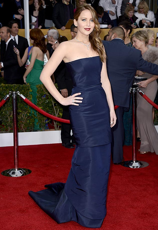 Jennifer Lawrence 2013 SAG Awards