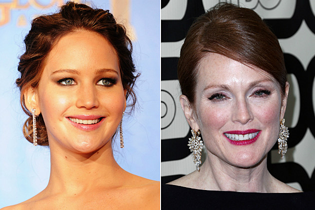 Jennifer Lawrence and Julianne Moore made big bucks to wear gorgeous jewelry.