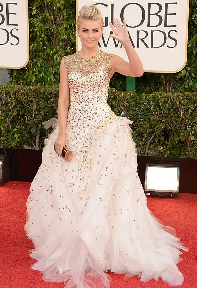 Julianne Hough 2013 Golden Globes