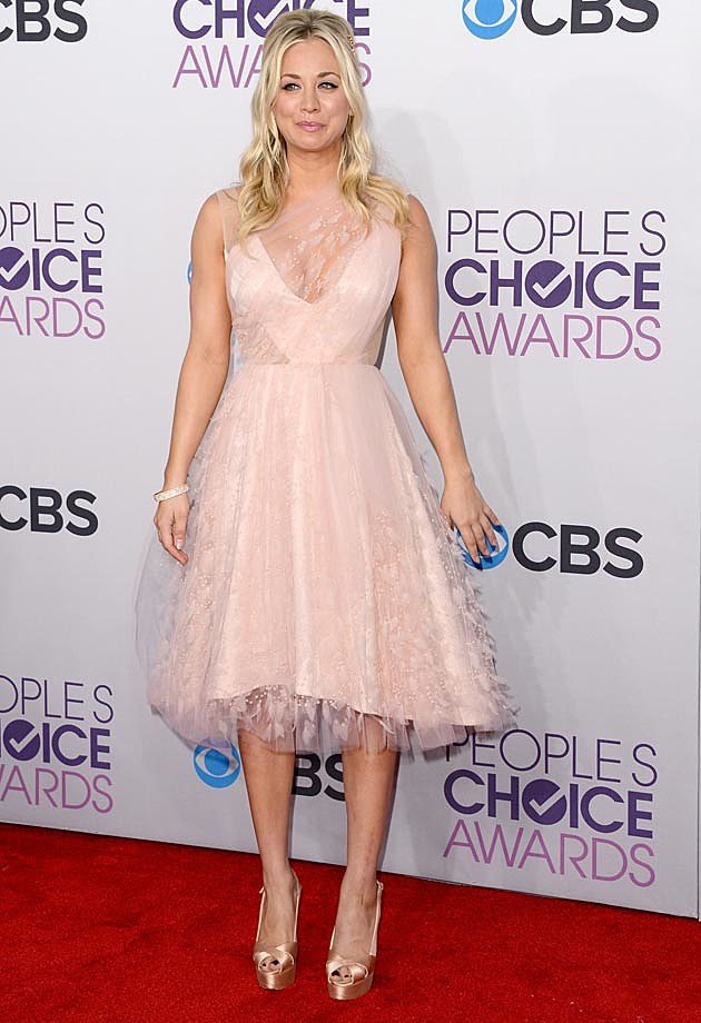 Kaley Cuoco 2013 People's Choice Awards