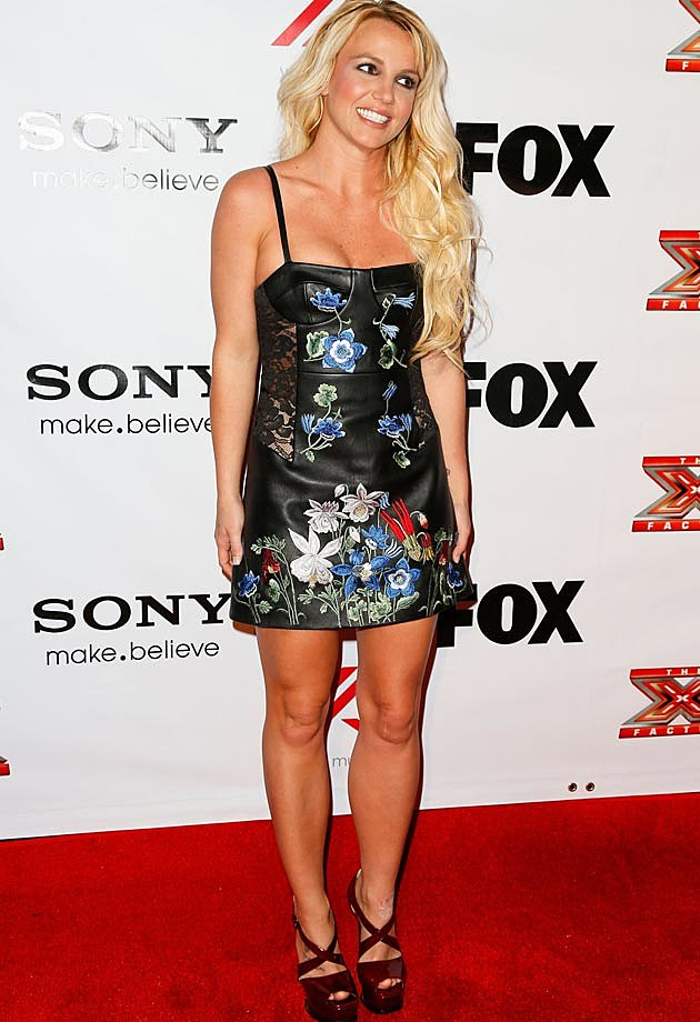 Britney Spears in Christopher Kane