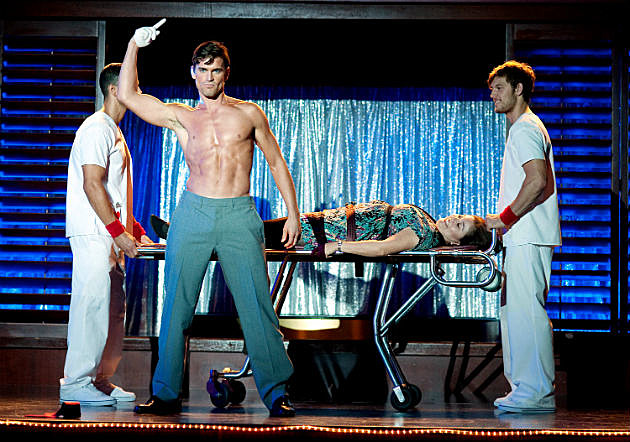 Matt Bomer shirtless Magic Mike