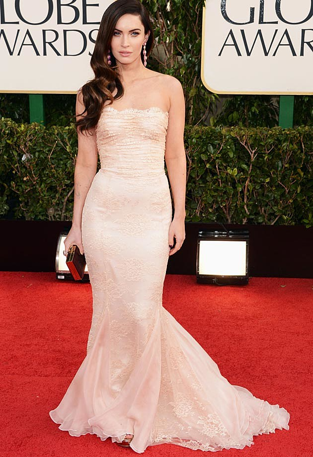 Megan Fox 2013 Golden Globes