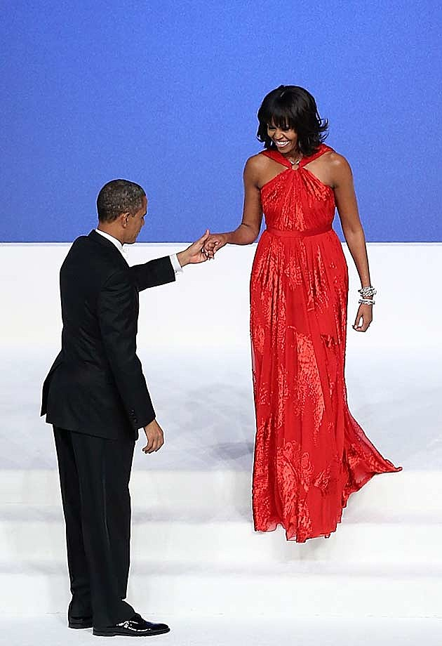 Michelle Obama Jason Wu Inaugural Ball