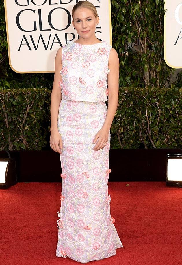 Sienna Miller Golden Globes 2013