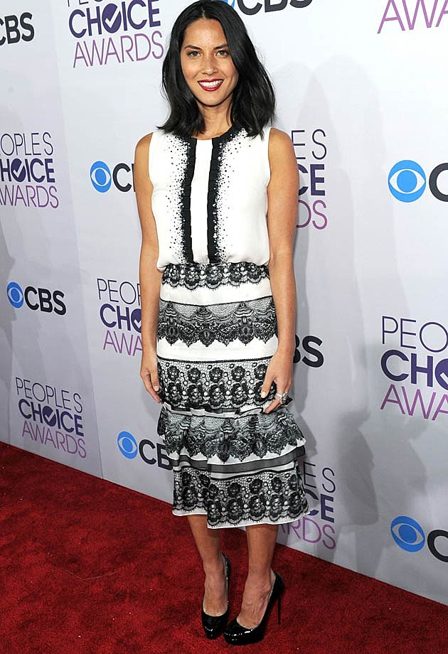 Olivia Munn 2013 People's Choice Awards