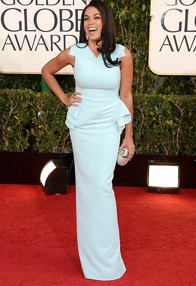 Rosario Dawson Golden Globes 2013