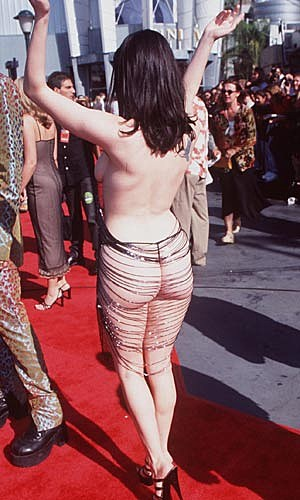 Rose McGowan VMAs Dress