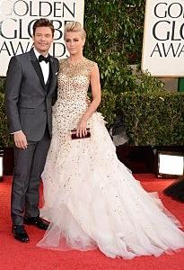Ryan Seacrest Julianne Hough Golden Globes
