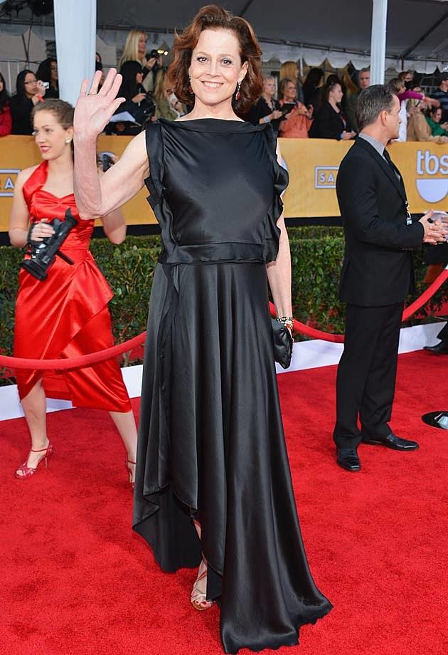 Sigourney Weaver 2013 SAG Awards