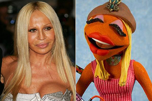 Donatella Versace Janice Muppets