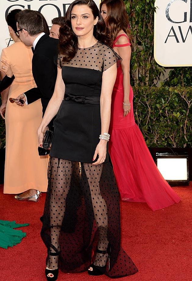 Rachel Weisz Golden Globes 2013