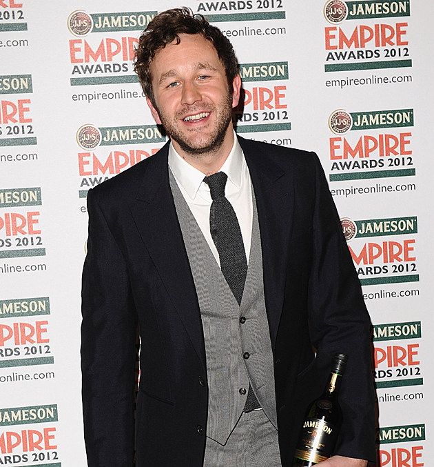 Chris O'Dowd in the Jameson Empire Awards Press Room