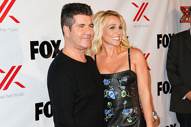 Simon Cowell, Britney Spears