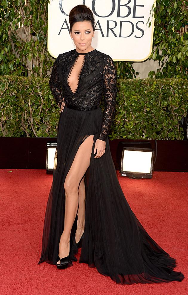 Eva Longoria 2013 Golden Globes