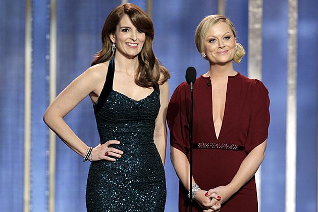 Tina Fey, Amy Poehler 2013 Golden Globes