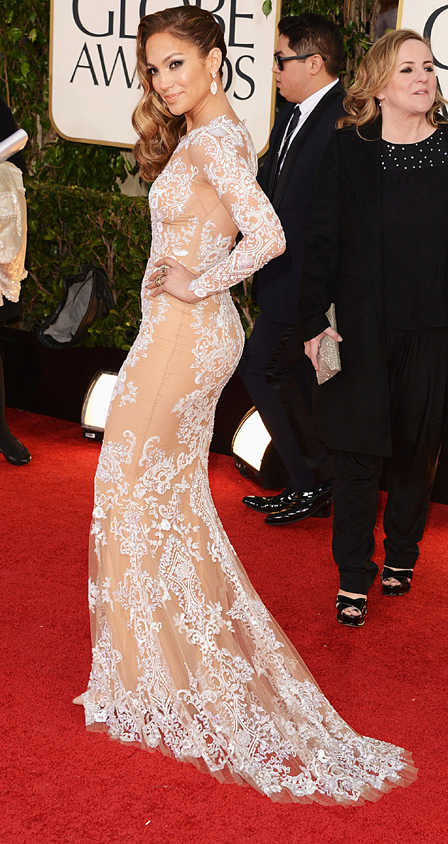 Jennifer Lopez 2013 Golden Globes