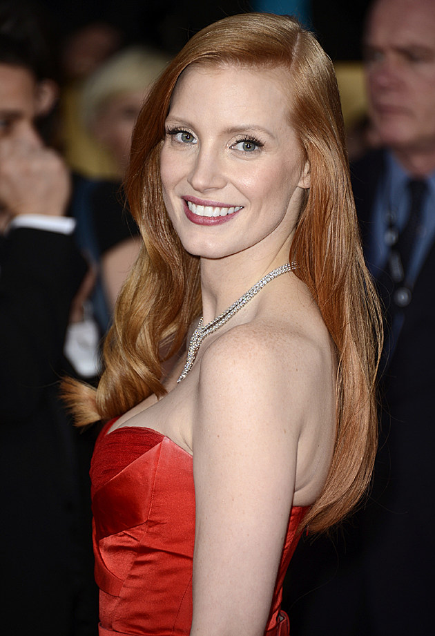 Jessica Chastain at the 19th Annual Screen Actors Guild Awards