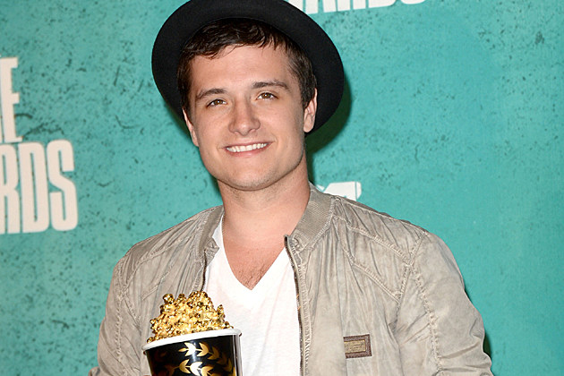 Josh Hutcherson at the 2012 MTV Movie Awards