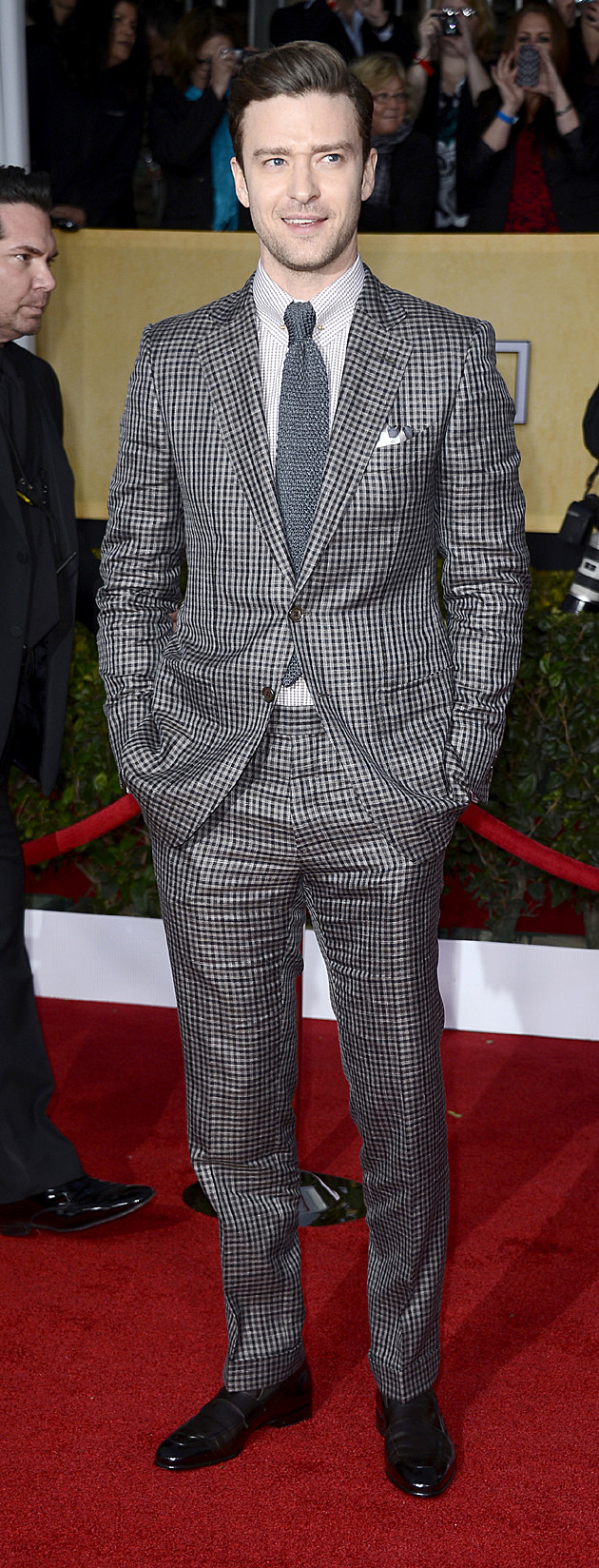 Justin Timberlake at the 19th Annual Screen Actors Guild Awards