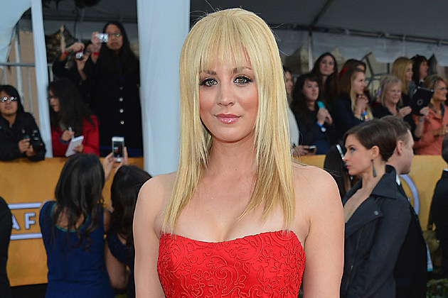 Kaley Cuoco at the 2013 Screen Actors Guild Awards