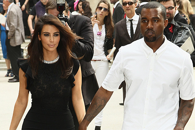 Kim Kardashian, Kanye West - Paris Fashion Week Haute Couture