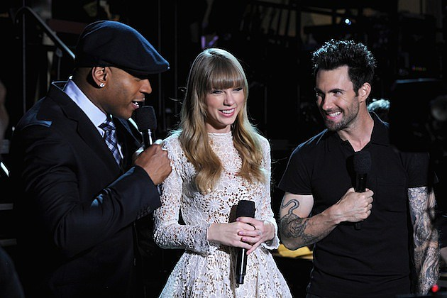 Ll Cool J Taylor Swift Adam Levine