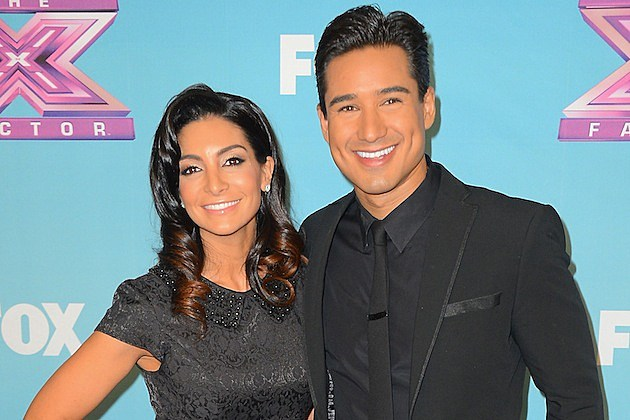 Mario Lopez Courtney Lopez
