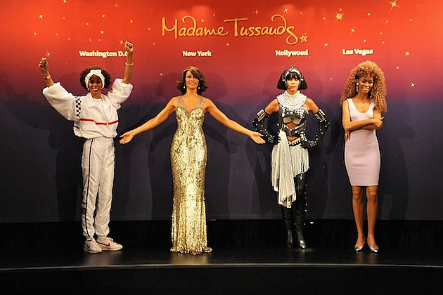 Whitney Houston Wax Figures