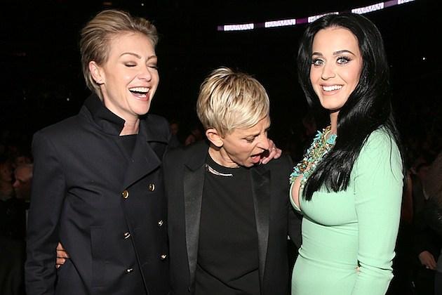 Portia De Rossi Ellen Degeneres Katy Perry