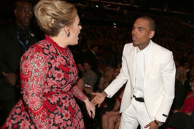 Adele Chris Brown