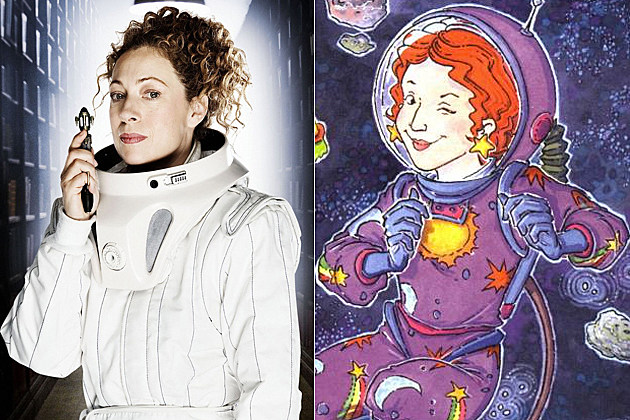 Alex Kingston Ms. Frizzle