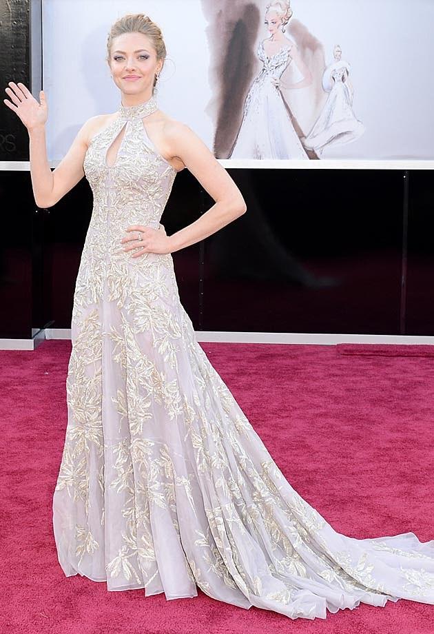 Amanda Seyfriend Alexander McQueen 2013 Oscars