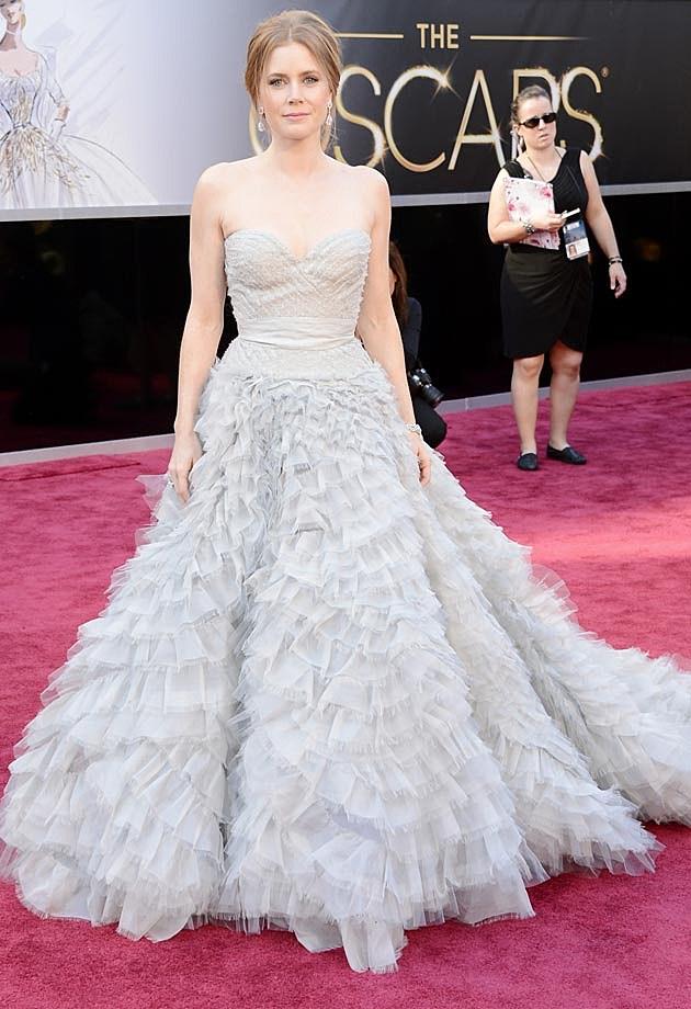 Amy Adams Oscar de la Renta Oscars 2013
