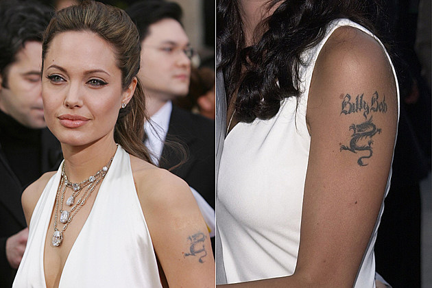 Angelina Jolie – Bad Celebrity Tattoos