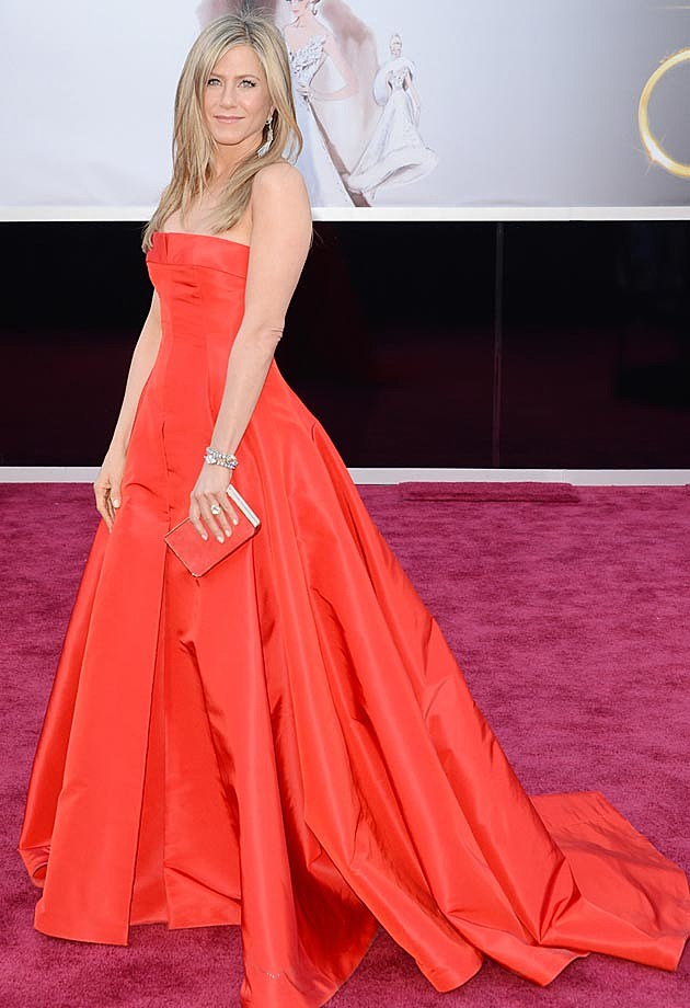 Jennifer Aniston 2013 Oscars Valentino