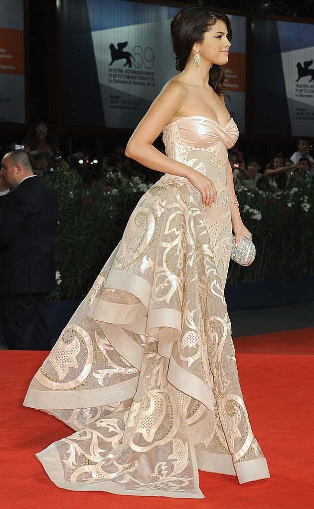 Selena Gomez Atelier Versace Venice