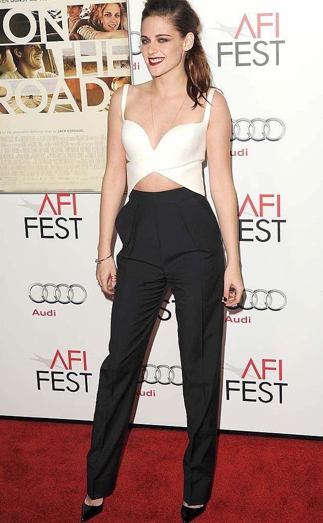 Kristen Stewart Two Piece Balenciaga