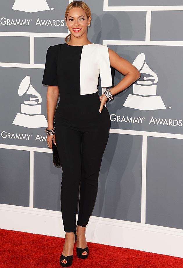 Beyonce Osman Pantsuit Grammys