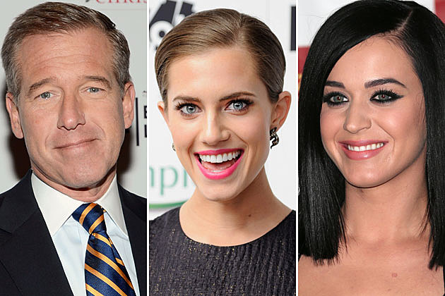 Brian-Williams-Alison-Williams Katy Perry