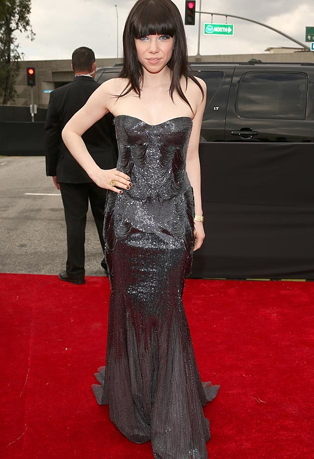 Carly Rae Jepsen Grammys Roberto Cavalli