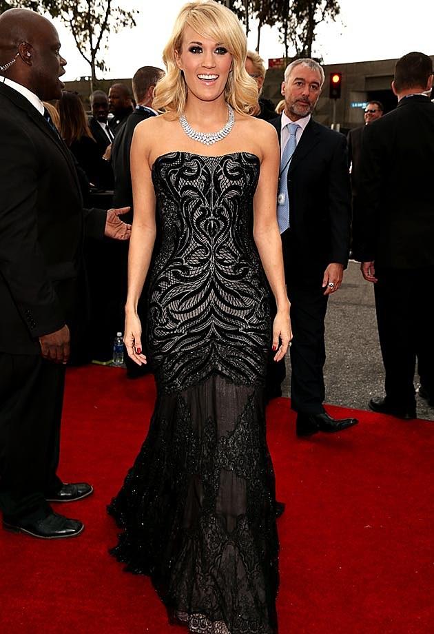 Carrie Underwood 2013 Grammys Roberto Cavalli